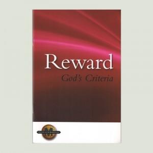 Reward God's Criteria by Walt Henrichsen